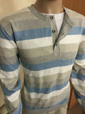 River Island Crew Neck Striped Jumpers & Cardigans for Men