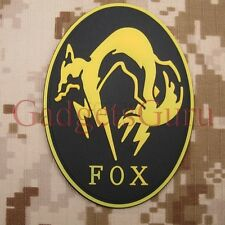Metal Gear Patch Metal Gear Solid Kojima Foxhound PATCH EMBROIDERY Iron on PATCH