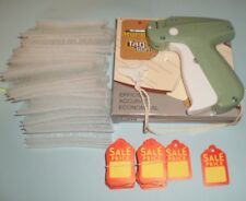 Clothing Price Label Tagging Tag Gun 1000 pins Fasteners + 100 Price Labels