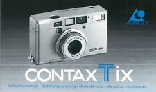 TiX Contax Bedienungsanleitung Manual Instruction