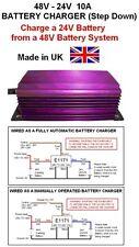 Cargador de batería de 48 V A 24v Step Down Dc-dc 10amp / 240 W, 48v-24v Cargador de batería
