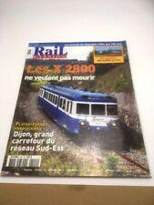Rail Passion Les X 2800,novembre 2006  numéro 109