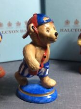 Halcyon Days Annual Teddy Bear Of The Year 1999 Umpire Mint Condition