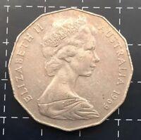 1969 AUSTRALIAN 50 CENT COIN