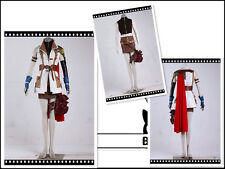 Final Fantasy 13 Lightning Cosplay Costume