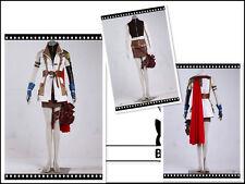 Final Fantasy 13 Lightning Cosplay Costume