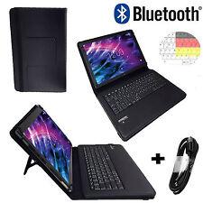 7 zoll Bluethooth Tablet Tasche blackberry playbook Hülle Etui Tastatur Schwarz