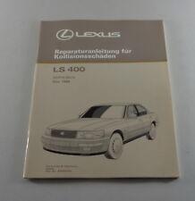 Taller de mano libro Lexus LS 400-UCF 10 kollisionsschäden carrocería de 12/1989