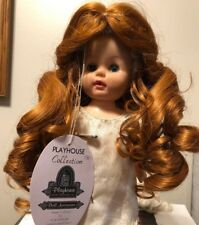Vintage New Playhouse Collection Doll Wig Style Anya in Carrot Size 14�-15�