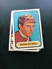 Topps Vintage 1967 Mayo Mysteries of India Set of 55 cards Mint Condition!!