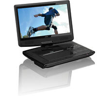 "10"" Inch Portable DVD Player Rechargeable Swivel Screen In Car Charger USB 12V"