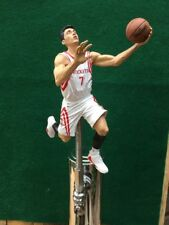 Houston Rockets Tap Handle Jeremy Lin Beer Keg White Jersey NBA Basketball a7094978f