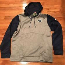 7503565db Men s Under Armour Los Angeles La Rams NFL Combine Hoodie 1300557 XL