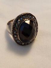Tie Ring Sz 5 Euc Premier Designs Jewelry - Black