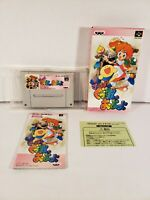 Super Gussun Oyoyo Nintendo Super Famicom SNES Japan Import Complete in Box CIB