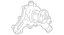 Genuine Ford Water Pump Assembly 6L2Z-8501-A