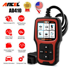 Automotive I/M Hot Key obd Fault Code Clear Car Engine Scan Analysis ANCEL AD410