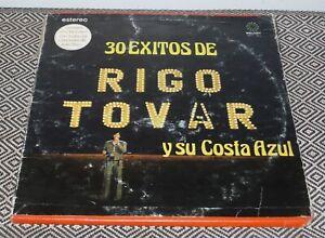 LP SET RIGO TOVAR Y SU COSTA AZUL 30 exitos de MELODY MRT-001