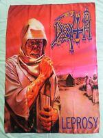 DEATH - Leprosy FLAG Heavy thrash death METAL cloth poster