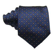 """Brioni Men's Blue Diamond Graphic 3.25"""" Silk Tie Made in Italy"""
