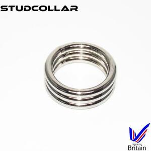 STUDCOLLAR-SUPERMAX3 - Metal Penis Erection/Enhancing Collars - 1 Per Order
