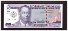 2012 PHILIPPINES 100 peso 100th Annivesary MASONS Commemorative Note, UNC