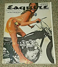 1966 DECEMBER ESQUIRE MAGAZINE - CLAUDIA CARDINALE ANNUAL GIFT GUIDE