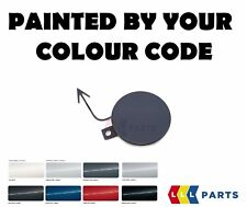 NEW VW PASSAT 10-15 FRONT BUMPER TOW HOOK COVER CAP PAINTED BY YOUR COLOUR CODE