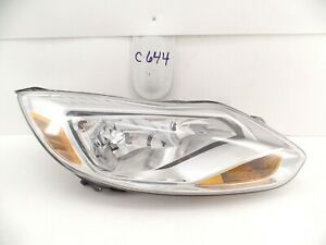 GENUINE OEM HEAD LIGHT FORD FOCUS 2012-2014 HEADLIGHT LAMP RH USED NICE