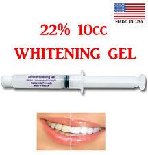 22% SYRINGE TOOTH  WHITENER TEETH WHITENING GEL 10cc= 40_apps