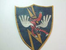 WWII FLYING TIGERS AVG CBI LARGE SHIELD LEATHER SQUADRON PATCH EXTREME QUALITY
