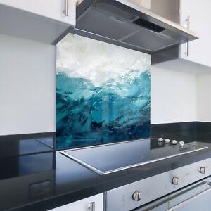 Toughened Heat Resistant Printed Kitchen Glass Splashback - Underwater Ocean 765