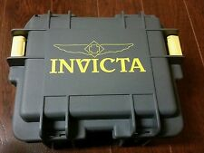 Invicta Men's Three 3 Slot  Gray/Yellow Dive,Diver Box CaseWatch,New