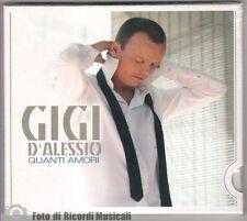 GIGI D'ALESSIO- QUANTI AMORI **SIGILLATO** DIGIPACK2007