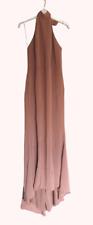 Asos Jarlo Petite corbata halter cola de pescado Maxi Vestido Reino Unido 12 LN007 OO 02