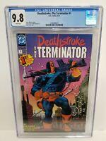 DEATHSTROKE: THE TERMINATOR #1 CGC 9.8 NM/MT, Origin of Deathstroke MIKE ZECK