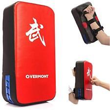 Boxing Pads Pu Leather Muay Thai Mma Martial Art Karate Taekwondo Kick Target