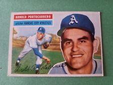 1956 Topps Arnold Portocarrero Oakland Athletics #53 Baseball Card
