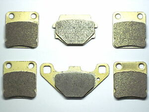 Front Rear Brake Pads For SUZUKI VINSON 500 LT-A 500 4X4 2003-2007 Brakes 54-67