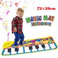 Musical Music Kid Piano Play Baby Mat Animal Educational Soft Kick Toy US
