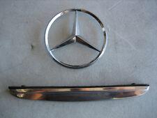 Mercedes W108 Chrome Trunk Handle & Emblem 1117585158 67-72 250SE 280SE 280SEL