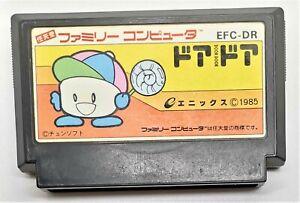 Genuine Door Door Video Game for Nintendo Famicom JAPANESE TESTED