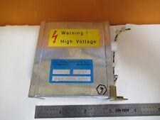 OSCILLOQUARTZ Suizo Alto Voltaje Potencia Suministro Cesium Reloj Como Imagen #