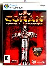 Age Of Conan Hyborian Adventures PC Completo Retro Videogame Mint Condition