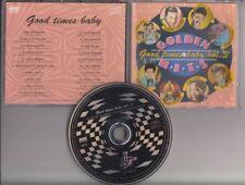 GOLDEN HITS Good Times Baby Vol.3 CD Ricky Nelson Bobby Vinton Gene Pitney