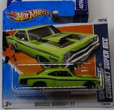 MOPAR Hot Wheels 2011 69 Dodge Coronet Super Bee (Green)
