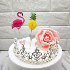 Flamingo Pineapple Cake Topper Party Cake Fruit Wedding Decoration Sticks Picks