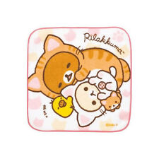 San-X Rilakkuma leisurely cat Mini Towel / Face Towel (CM51201) 18c
