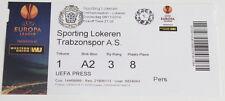 Ticket for collectors EL Sporting Lokeren Trabzonspo Kulubu 2014 Belgium Turkey