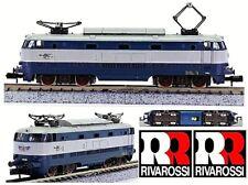 RIVAROSSI 9161 VINTAGE LOCOMOTIVE ÉLECTRIQUE TORTUE E444-015 FS ITALIE ÉCHELLE-N